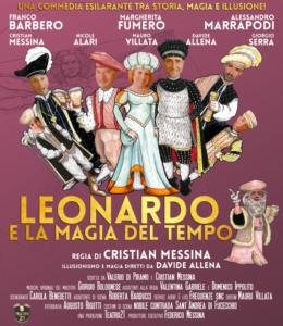 'Leonardo e la magia del tempo' @ teatro elios santena | Santena | Piemonte | Italia