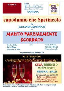 VIENI A FESTEGGIARE IL CAPODANNO AL TEATRO ELIOS!!! @ TEATRO ELIOS SANTENA | Santena | Piemonte | Italia